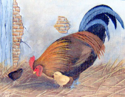 gallery/Members_Paintings/Mary_Needham/cockerel1.jpg